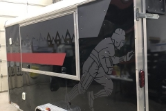 Summer 2018 - new graphics being installed