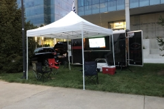 Our first Nippert tailgate with the updated graphics