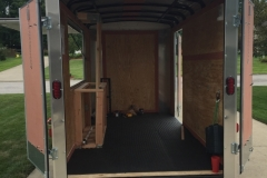 Interior nearly ready for tailgate #1